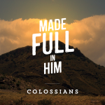 Pray Colossians 3:15-17