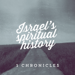 Pray 1 Chronicles 21-27